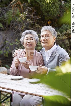 高齢者 老人 夫婦 36246897