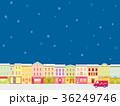 街並み クリスマスシーズン 雪 36249746