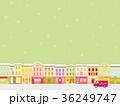 街並み クリスマスシーズン 雪 36249747