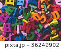 アルファベット たくさん 英語の写真 36249902