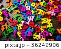 アルファベット たくさん 英語の写真 36249906
