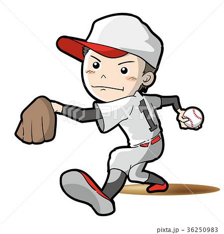 野球・ピッチャーイメージ 36250983