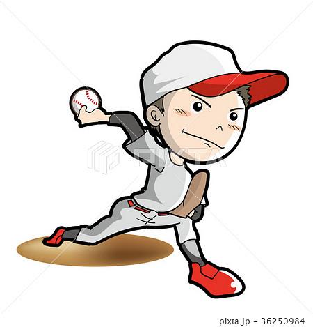 野球・ピッチャーイメージ 36250984