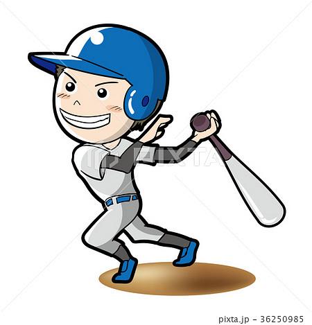 野球・バッターイメージ 36250985