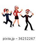 クリスマス ベクトル 女性のイラスト 36252267