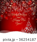 クリスマス 雪の結晶 ベクトルのイラスト 36254187