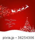ベクトル サンタ クリスマスのイラスト 36254306