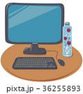 パソコンとハーバリウム 36255893