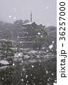 瑠璃光寺 五重塔 雪の写真 36257000