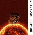 太陽 恒星 宇宙空間のイラスト 36258493