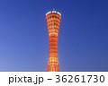 ポートタワー 神戸ポートタワー 空の写真 36261730