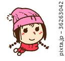 女の子・冬 36263042