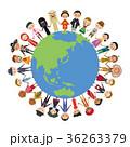地球 世界 民族衣装 男女 平和 イッツア・スモール・ワールド 36263379