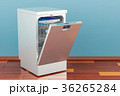 食器洗い機 食器洗浄機 食洗機のイラスト 36265284