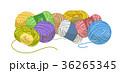 毛糸 毛糸玉 カラフルのイラスト 36265345