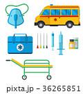 救急車 メディカル 医療のイラスト 36265851