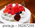 クリスマス クリスマスケーキ ケーキの写真 36267299