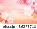 桜 和柄 和紙のイラスト 36278718