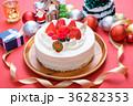 クリスマス クリスマスケーキ ケーキの写真 36282353
