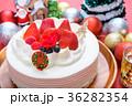 クリスマス クリスマスケーキ ケーキの写真 36282354
