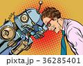 ロボット 男 男性のイラスト 36285401