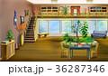 Cartoon Interior of the Living Room 36287346