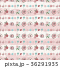 Exotic colorful flowers set 36291935