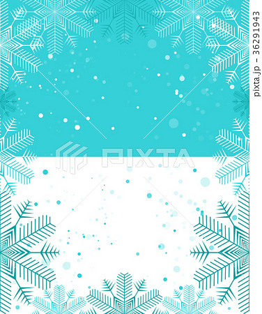 christmas template blue and white backgroundのイラスト素材