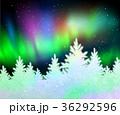 クリスマス 森林 林のイラスト 36292596