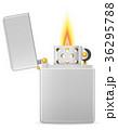 ベクトル ライター 炎のイラスト 36295788