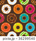 ドーナツ デザート セットのイラスト 36299540