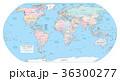 地球 マップ 地図のイラスト 36300277
