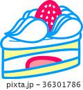 苺のショートケーキ 36301786