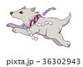 正月 干支 犬のイラスト 36302943