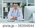 外国人 白人 医師の写真 36304644