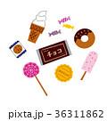 お菓子 食べ物 セットのイラスト 36311862