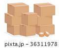 引越し 荷造り 梱包のイラスト 36311978