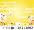 和柄 菊 梅のイラスト 36313662