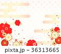 和柄 菊 梅のイラスト 36313665