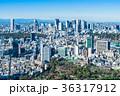 東京 新宿副都心と原宿・青山周辺の町並み 36317912