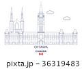 Ottawa City Skyline, Canada 36319483
