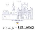Vitoria-Gasteiz City Skyline, Spain 36319502