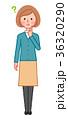 考える女性 36320290