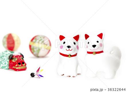 日本の新年イメージ,戌,干支 の写真素材 [36322644] - PIXTA