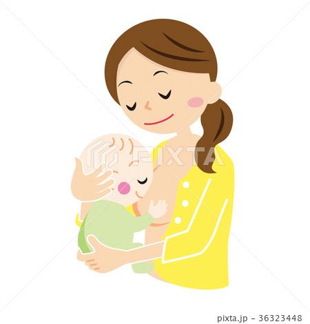 母乳をあげるママ 36323448