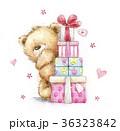くま プレゼント 贈り物のイラスト 36323842
