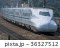 N700系 新幹線 乗り物の写真 36327512
