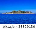 軍艦島と青空 軍艦島クルーズ 36329130