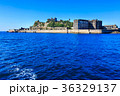 軍艦島と青空 軍艦島クルーズ 36329137