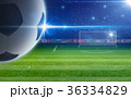 Abstract soccer background 36334829